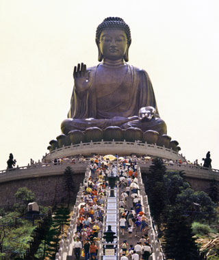 most-visited sacred sites: Po Lin Monastery