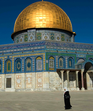 most-visited sacred sites: Temple Mount