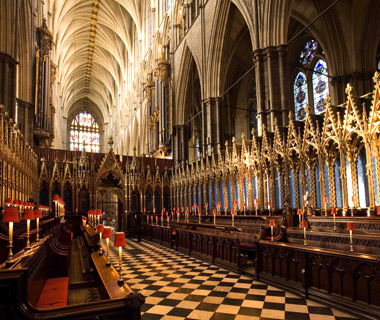most-visited sacred sites: Westminster Abbey