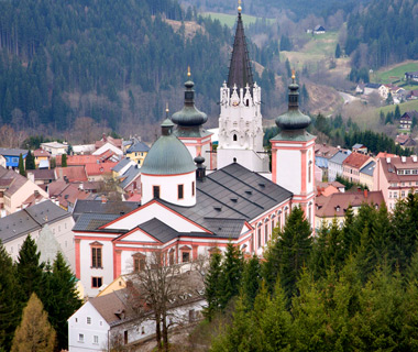 most-visited sacred sites: Mariazell Shrine