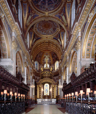 most-visited sacred sites: St. Paul's Cathedral