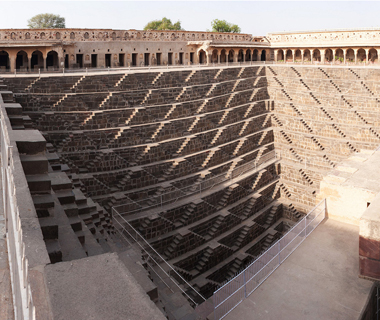 world's coolest staircases: Chand Baori