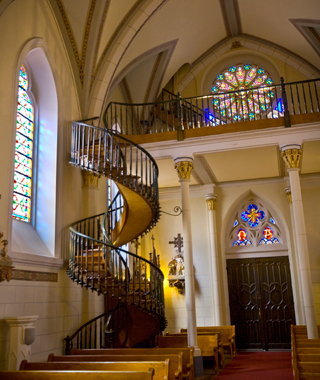 world's coolest staircases: Loretto Chapel