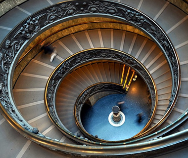 world's coolest staircases: Vatican Museum