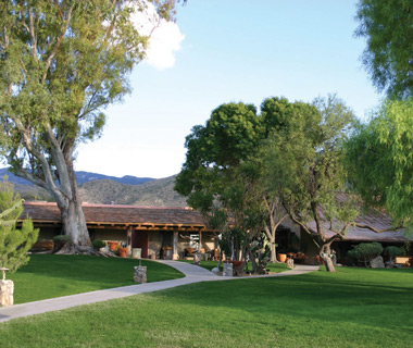 most relaxing U.S. resorts: Tanque Verde Ranch