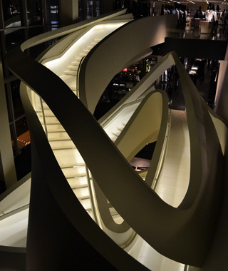 world's coolest staircases: Armani Store