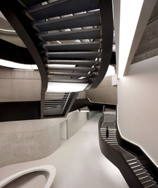 world's coolest staircases: Maxxi Museum