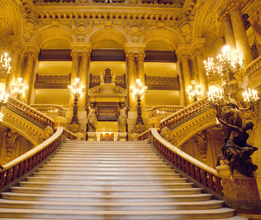 world's coolest staircases: Grand Opera Staircase