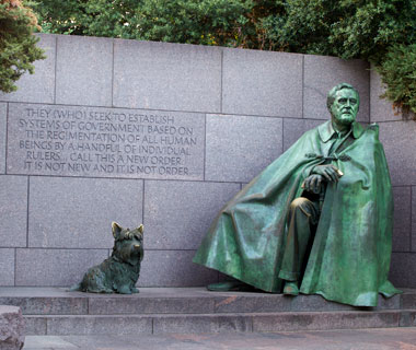 America's most-visited monuments: FDR Memorial