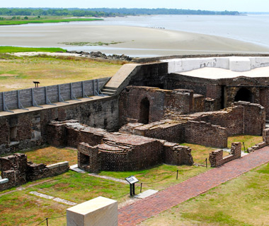 America's most-visited monuments: Fort Sumter