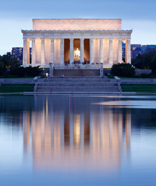 America's most-visited monuments: Lincoln Memorial