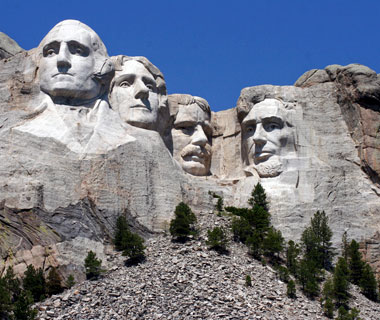 America's most-visited monuments: Mount Rushmore