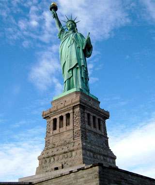 America's most-visited monuments: Statue of Liberty