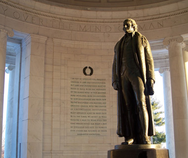 America's most-visited monuments: Thomas Jefferson Memorial
