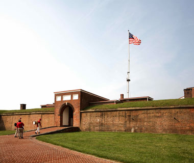 America's most-visited monuments: Fort McHenry National Monument and Historic Shrine