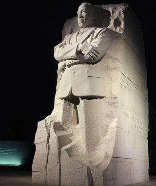 America's most-visited monuments: Martin Luther King, Jr. Memorial