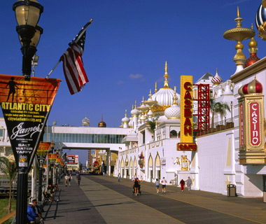world's least romantic places: Atlantic City, NJ