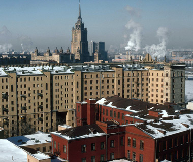 world's least romantic places: Moscow