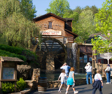 world's least romantic places: Pigeon Forge