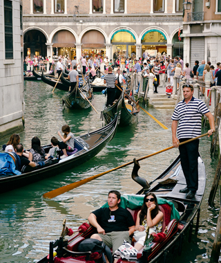 world's least romantic places: Venice's Canals