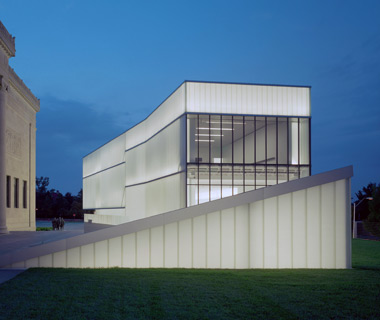 world's top new buildings: Bloch Building, Nelson Atkins Museum