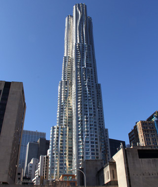 world's top new buildings: New York by Gehry