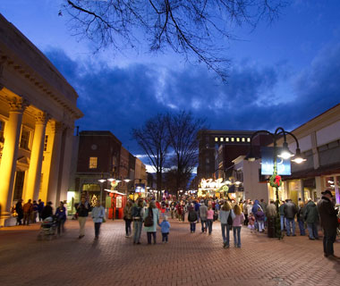 America's Prettiest Winter Towns: Charlottesville