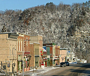 America's Prettiest Winter Towns: Lanesboro, MN