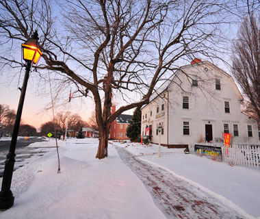 America's Prettiest Winter Towns: Old Wethersfield, CT