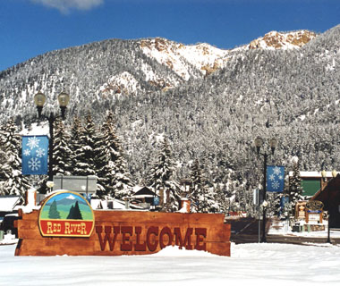 America's Prettiest Winter Towns: Red River, NM