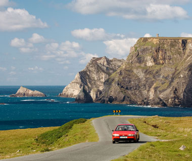 how to buy car-rental insurance in Europe: Ireland