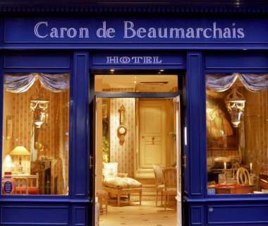 affordable Paris hotels: Caron de Beaumarchais