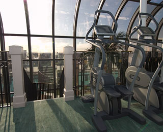 Best Hotel Gym Views: Jumeirah Carlton Tower Hotel, London