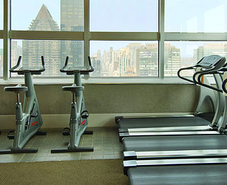 Best Hotel Gym Views: The Millennium UN Plaza Hotel, New York City
