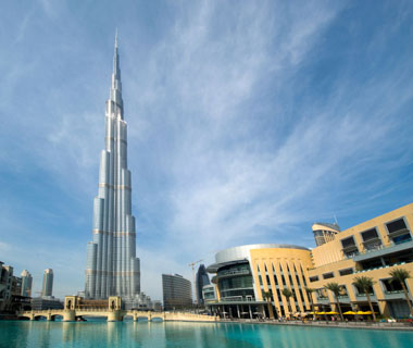 new landmarks around the world: Burj Khalifa