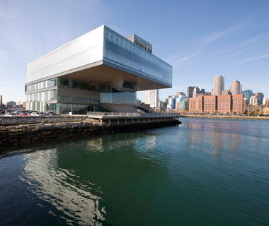 new landmarks around the world: Institute of Contemporary Art