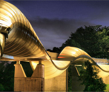 new landmarks around the world: Henderson Waves Pedestrian Bridge