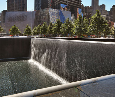 new landmarks around the world: National September 11 Memorial
