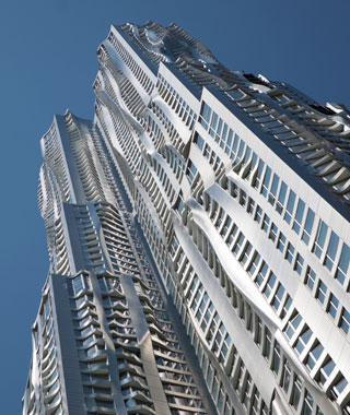 new landmarks around the world: 8 Spruce Street