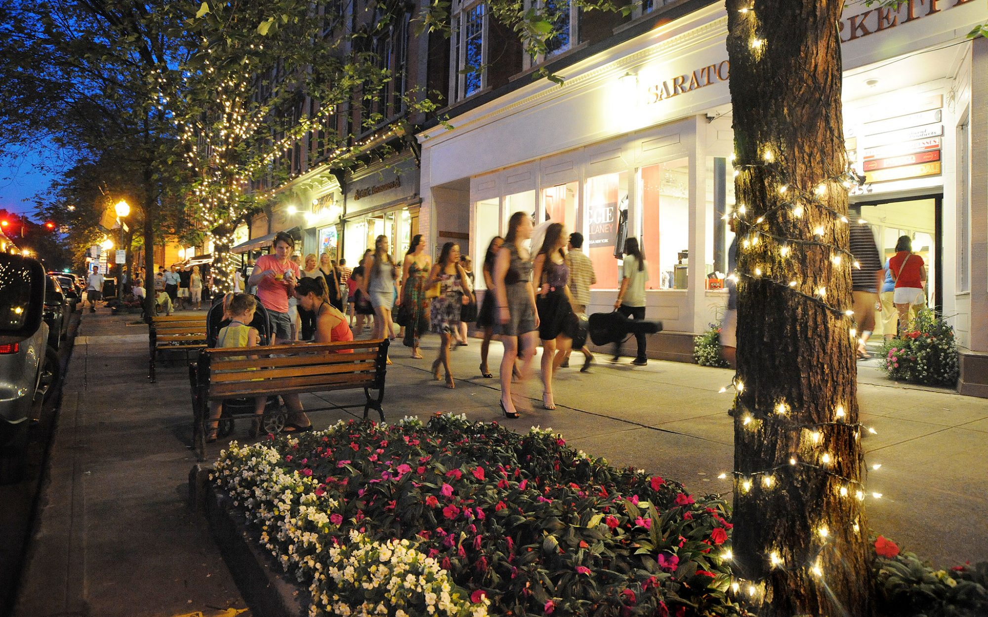 America's greatest main streets: Saratoga Springs