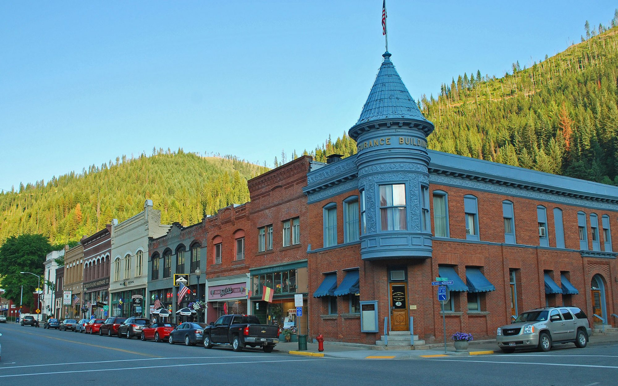 America's greatest main streets: Wallace