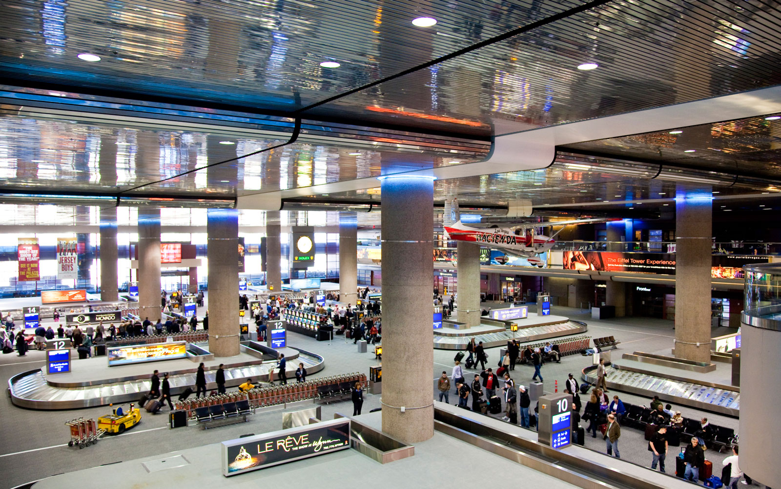 America's best and worst airports: Las Vegas (LAS)