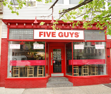 best fast-food chains in the world: Five Guys