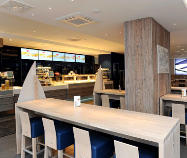 best fast-food chains in the world: Nordsee