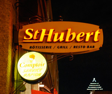 best fast-food chains in the world: St. Hubert