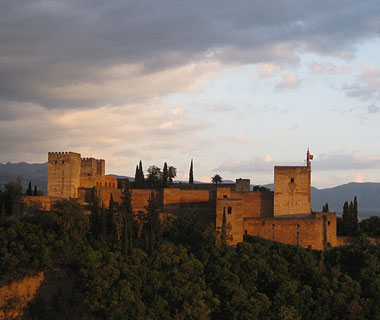 beautiful castles: Alhambra, Granada