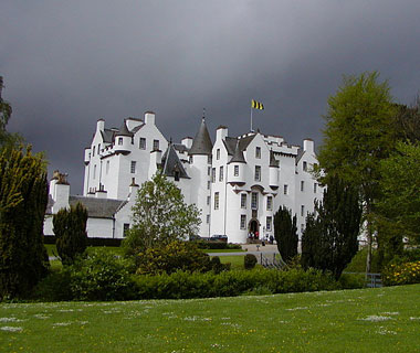 beautiful castles: Blair, Perthshire, Scotland