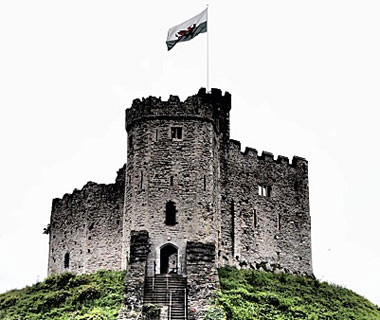 beautiful castles: Cardiff, Wales