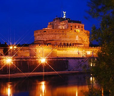 beautiful castles: Castel Sant'Angelo, Rome