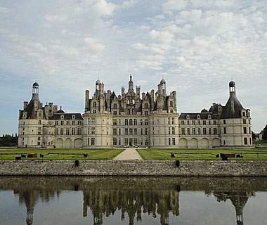 beautiful castles: Château de Chambord, France